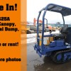 2010 Canycom S25A Rubber Track Dumper